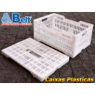 caixa plastica CD-240 cor natural
